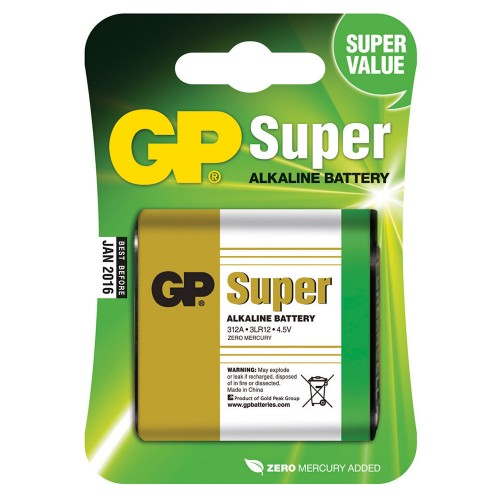 GP Super alkaliparisto 4,5V